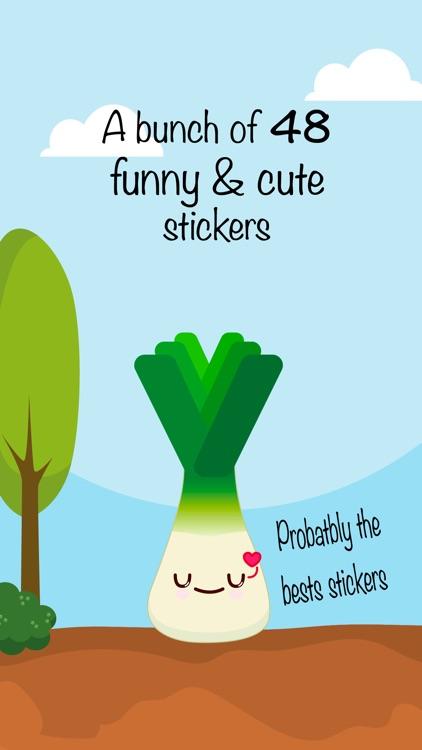 Harvey Leek - Stickers