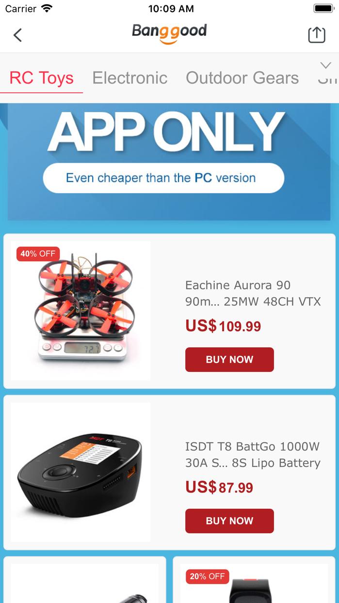 Banggood Easy Online Shopping Screenshot