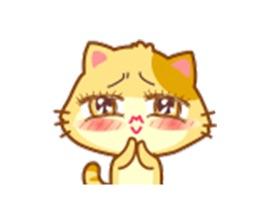 Fun Animation Cat Stickers