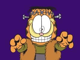 Garfield Halloween Stickers