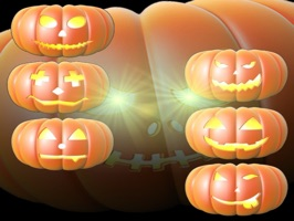 Halloween StickABoos are fun 3D pumpkins, just in time for your haunting messages