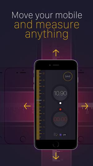 Tape Measure PRO. Screenshot