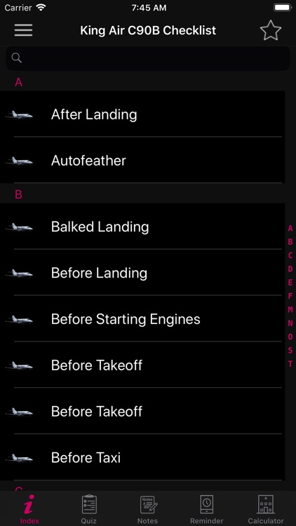 King Air C90B Checklist screenshot-4