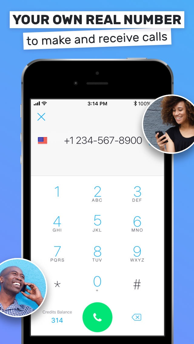 Text Me - Phone Calls + Text Screenshot