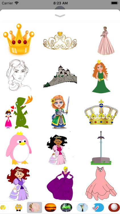 Princess Stickers - Sid Y