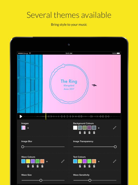 Wizibel - Audio Visualizerのおすすめ画像2