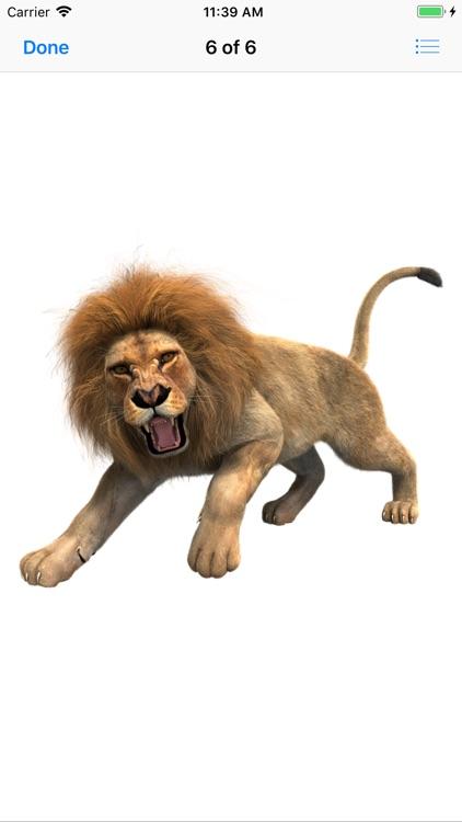 Lion Stickers screenshot-9