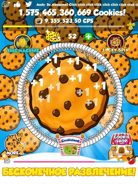 Cookie Clickers 2 на iPad