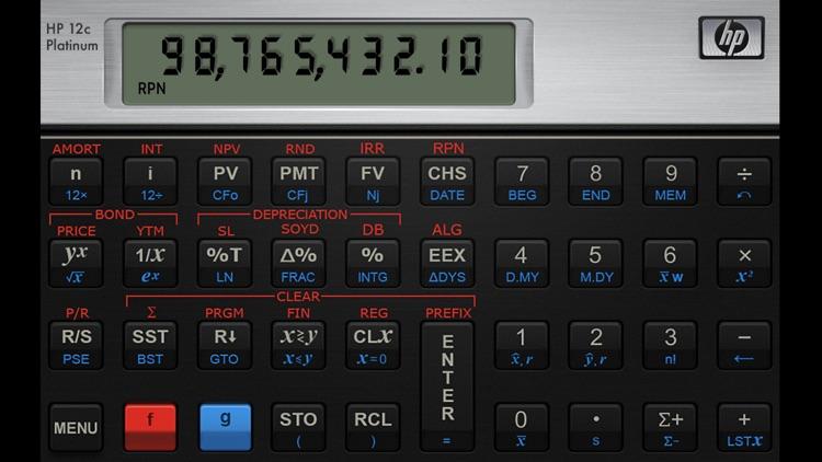 HP 12C Platinum Calculator