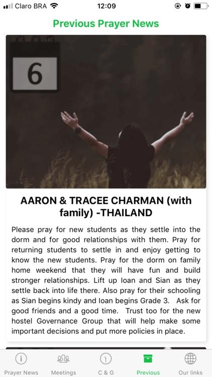 WEC NZ Prayer App screenshot-4