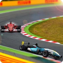 Desert Formula Car Racing