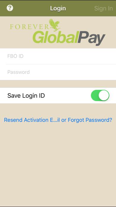 Forever GlobalPay screenshot one