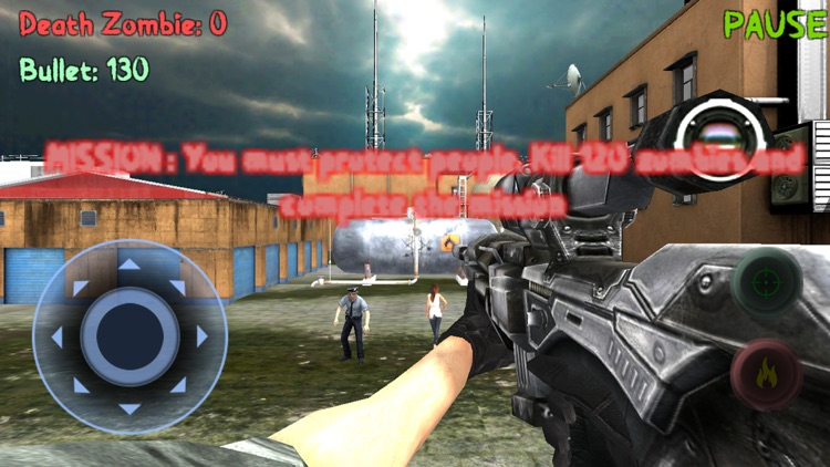 Sniper: Zombie Hunter Missions screenshot-4