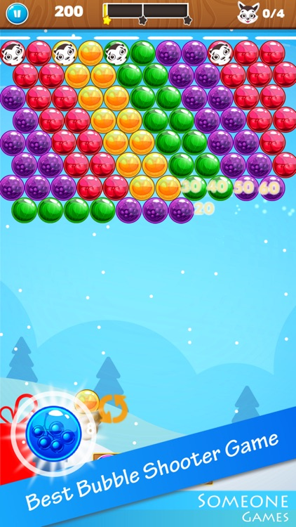 Bubble Shooter Christmas Eve screenshot-0