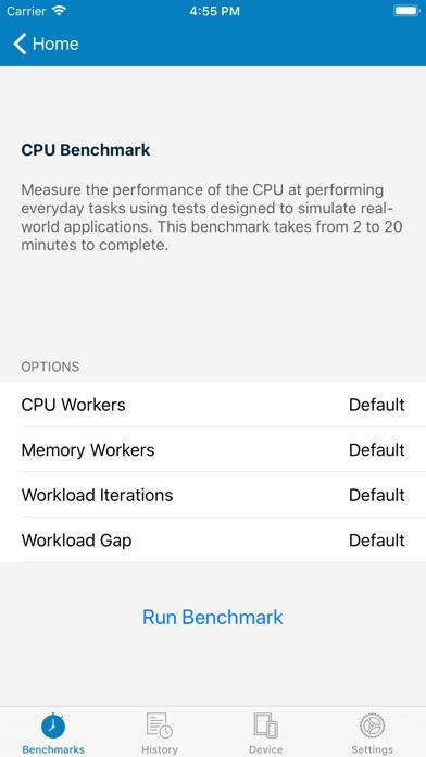 Geekbench 4 Pro screenshot 2