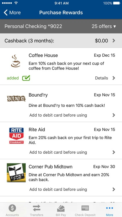 Centier Bank Mobile screenshot-3