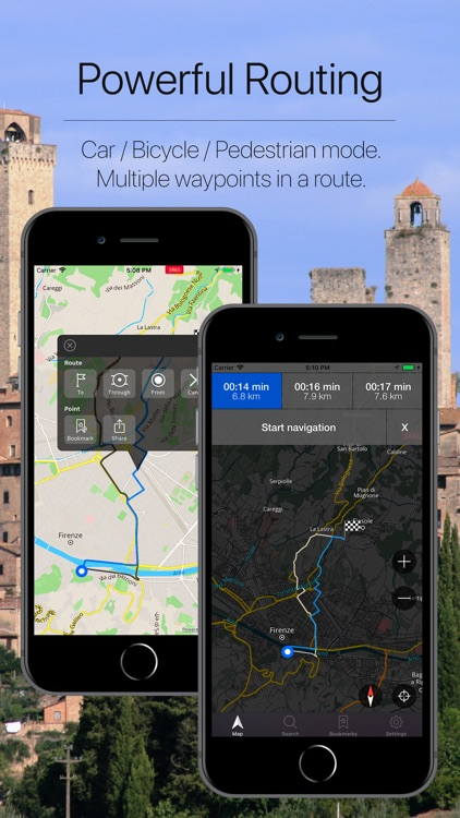 Tuscany Offline Navigation screenshot-2
