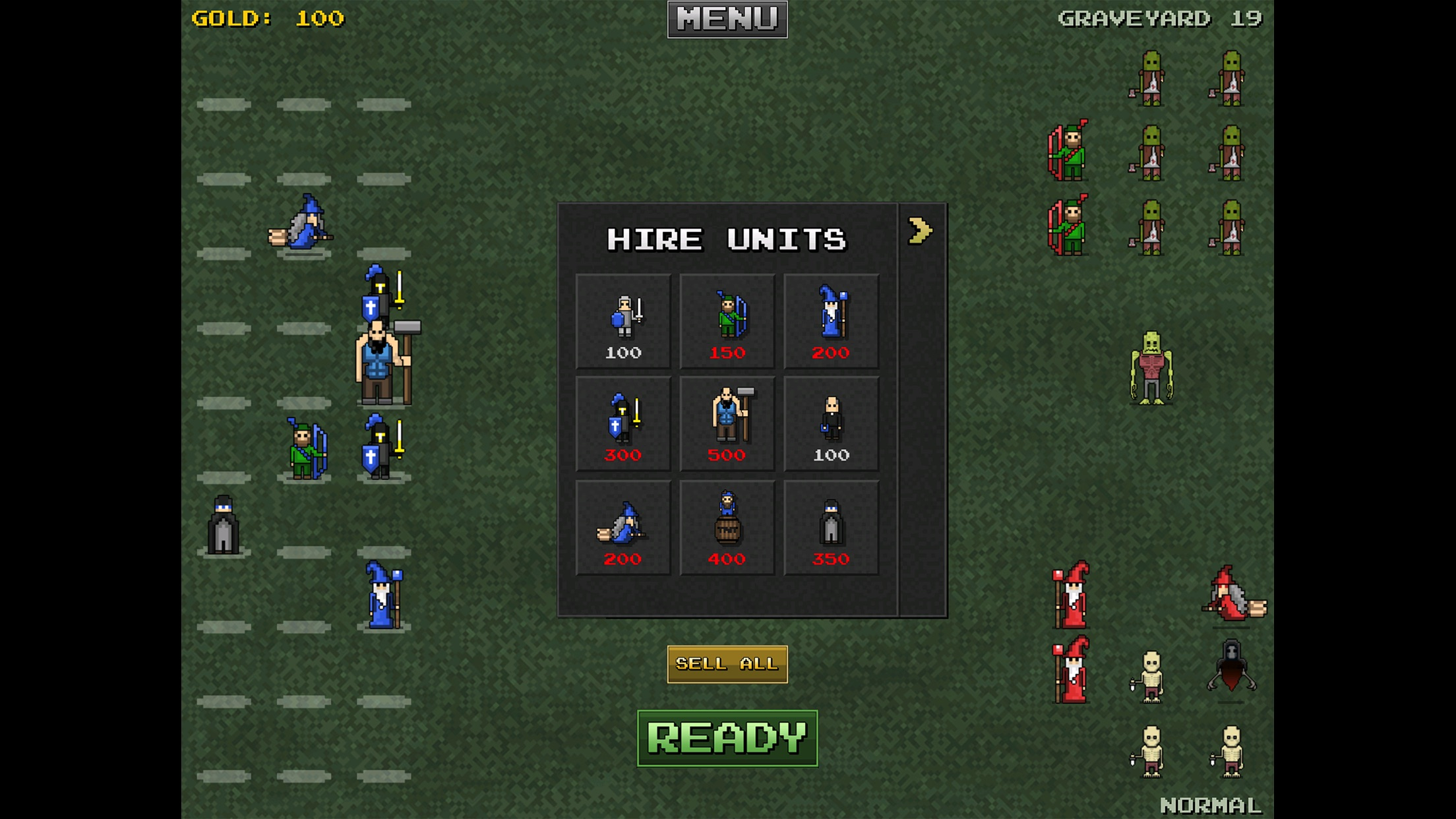 Screenshot do app 8bitWar: Necropolis