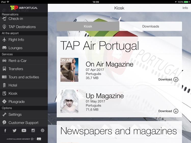 Air Portugal for iPad screenshot-3