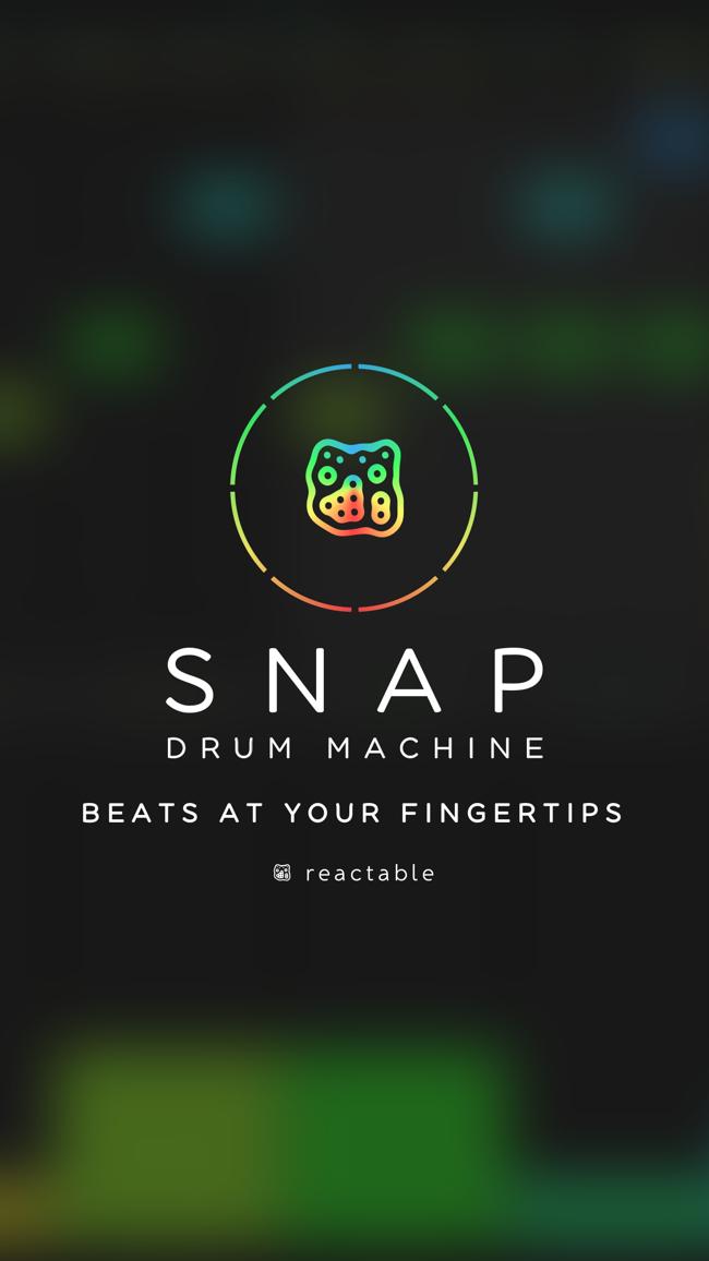 SNAP - Reactable Drum Machine Screenshot