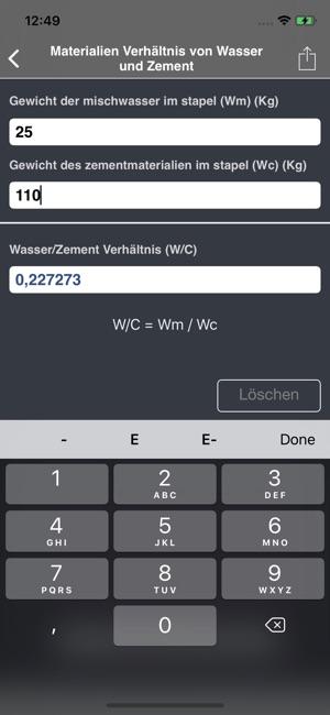 Beton Rechner Lite Im App Store