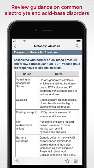 MGH Nephrology Guide screenshot 2