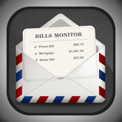 Bills Monitor for iPad - Bill Manager & Reminder icon