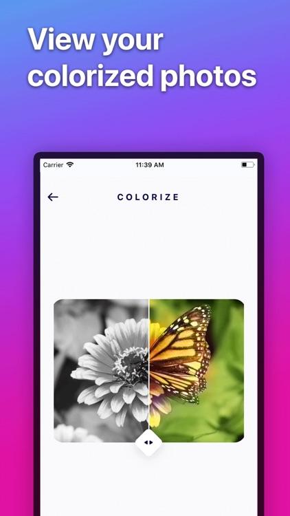 Colorize - Color B&W Photos screenshot-3