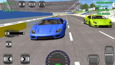 Superheroes Car Racing Sim Pro Screenshot 1