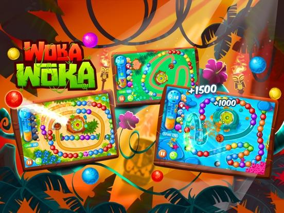 Скачать Marble Woka Woka: шарики & поп