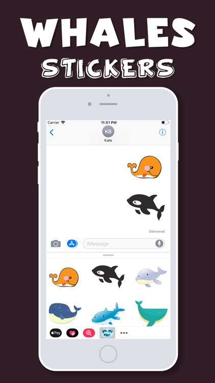Whales Emojis screenshot-3