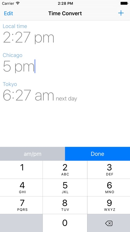 The Time Zone Converter App