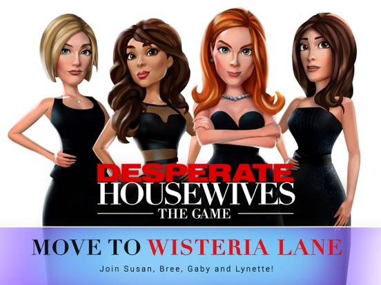 Desperate Housewives: The Game на iPad