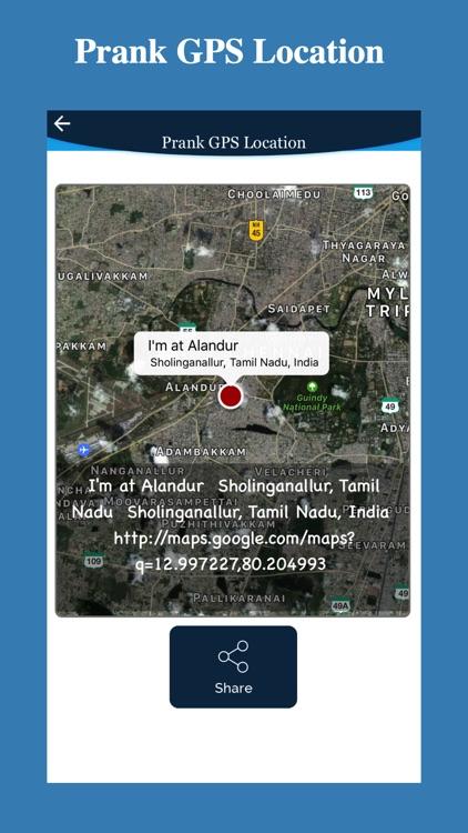 Prank GPS Location