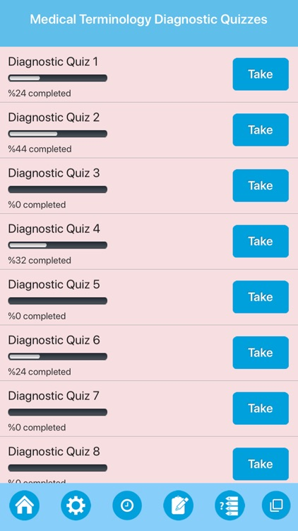 Medical Terminologies Quiz screenshot-5