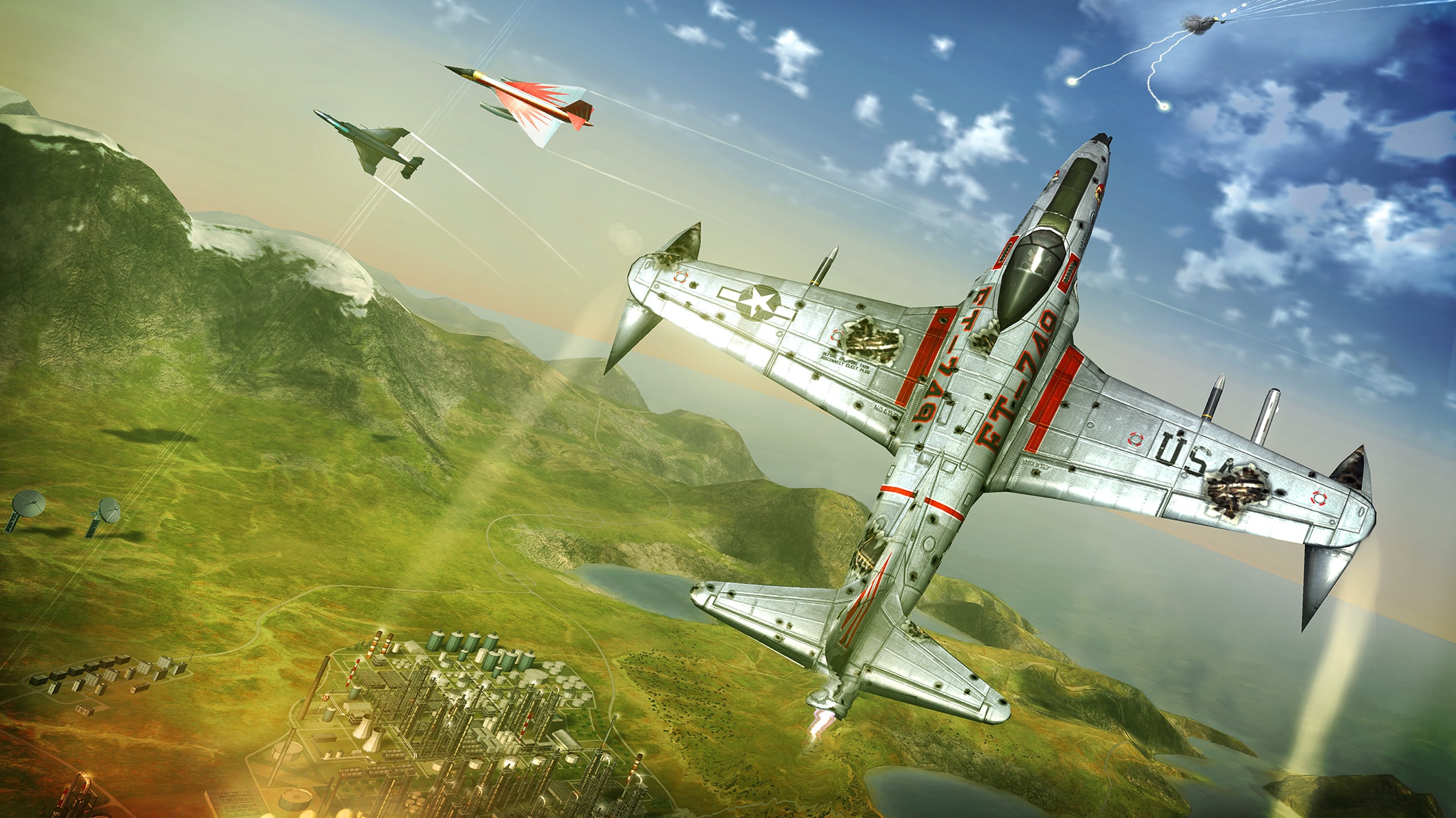 Screenshot do app Sky Gamblers: Cold War