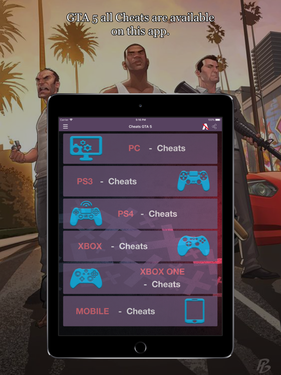 All Cheat Codes for GTA 5 | App Price Drops