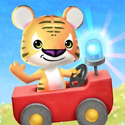 Little Tiger: Toddler's Firefighter & Astronaut