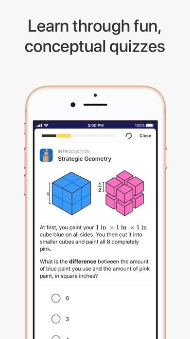 Brilliant – solve, learn, grow Screenshot