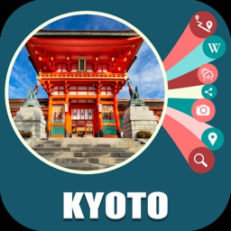 Kyoto Japan Offline Travel Map