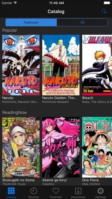 The Manga.スクリーンショット