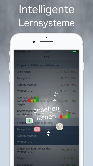Screenshot for SKS .Sportküstenschifferschein in Germany App Store