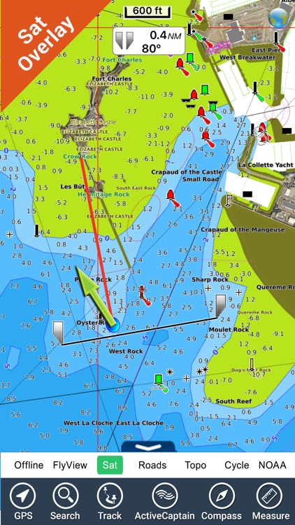 Brittany Nautical Charts HD