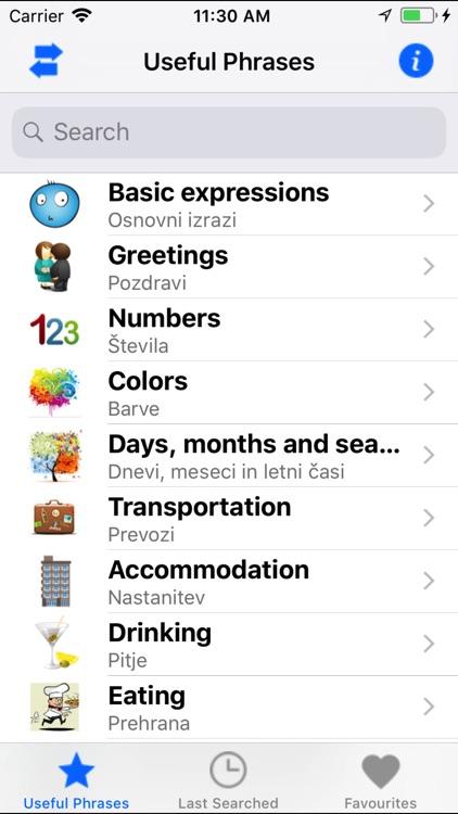 Useful Eng Slo phrases screenshot-4