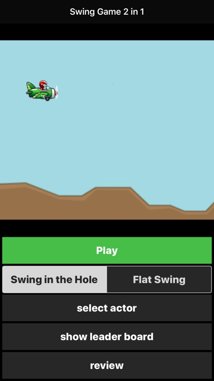 Swing Games 2 in 1 for watch