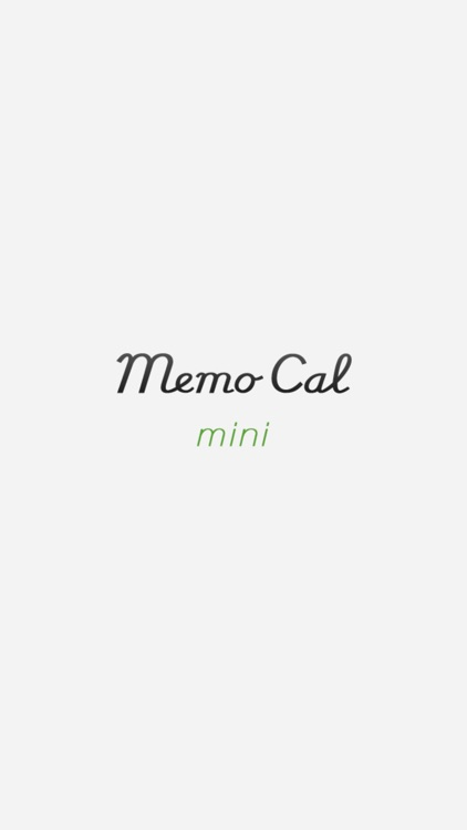 MemoCal mini screenshot-0
