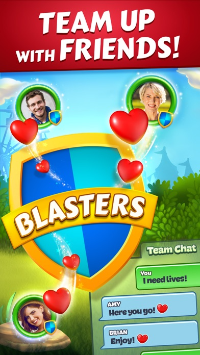 Screenshot of Toon Blast App