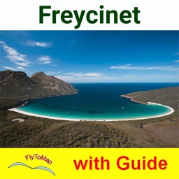 Freycinet NP GPS and outdoor map with guide