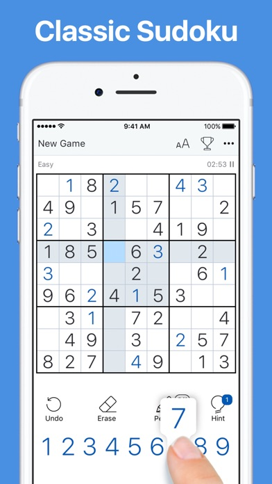 Download Sudoku.com - Puzzle Game for Pc