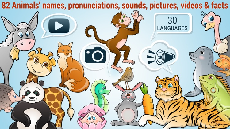 82 Kids Puzzles Learn Animals screenshot-0